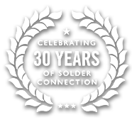 Celebrating 30yrs of Solder Connection Logo