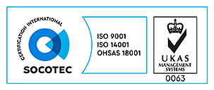 SOCOTEC Quality Management - SGS ISO 9001-2008, SOCOTEC Health & Safety - SGS BS OHSAS 18001, SOCOTEC Environmental Management - SGS ISO 14001-2004
