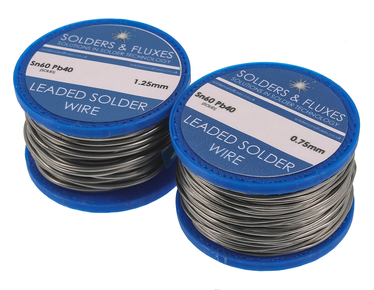 Leaded Solder Wire - Solid 50g