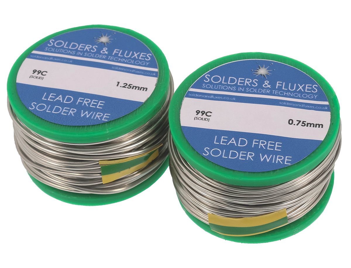 Lead-Free Solder Wire - Solid 50g