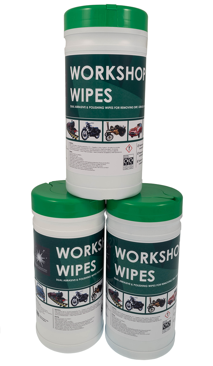 Workshop Wipes - Presaturated